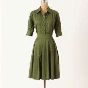 Anthro Lili's Closet shirt dress